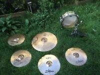 Cymbals, Kick Pedal, Brass Snare, Paiste, Sabian, zildjian, Tama and Yamaha Spare Drumkit Spares