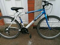 "Decathlon Rockrider mountain bike 26"" wheels new cables Great con"
