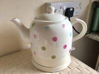 Polka Dots Ceramic kettle
