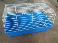 'Little Friends' Guinea Pig/Rabbit Travel Cage. Small Animal Cage (59cm)