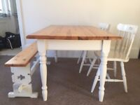 Rustic/ Farmhouse style Dining Table
