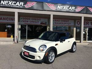 2012 MINI Cooper 6 SPEED LEATHER PANORAMIC ROOF 91K