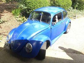vw beetle 1969 Tax Exempt