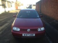 VW Volkswagen Golf MK4 GTI 2.0 Litre Petrol. Buy it now for only **£600** - Or email your best offer