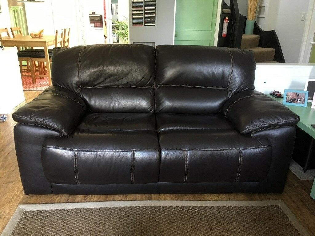 Sofology Csl Empire 2 Seater Leather Sofa Recliner Also Available