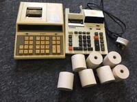 Calculators with printer