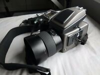 hasselblad h3dii medium format camera with 80mm 2.8 4k shutter count