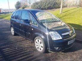 2008 Vauxhall Meriva Breeze Plus, New Clutch, 3 month warranty, Years MOT