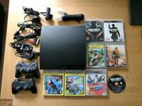 PlayStation 3 320gb Console and Games