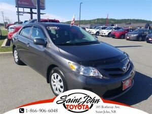 2013 Toyota Corolla CE with Sunroof $151.03 BIWEEKLY!!!