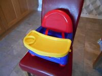 Safety first high chair/booster seat