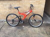 Mens Trax Dual Suspension Mountain Bike in GOOD Condition