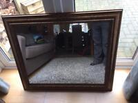 Bronze/gold mirror