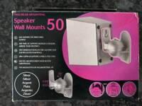 Speaker brackets wall mounts (pair) brand new