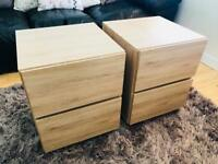 Pair of Next Home bedside tables