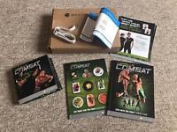 Beachbody Les Mills Combat Ultimate Warrior Fitness DVD Set