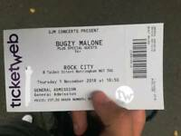 Bugzy Malone Nottingham Ticket
