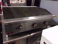 RESTAURANT BBQ TAKEAWAY CHARCOAL GRILL KITCHEN CAFE WATER TRAY BASED COMMERCIAL CATERING