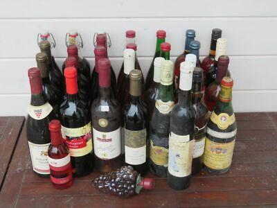 Konvolut von 31 Flaschen guter deutscher Rotwein aus dem Zeitraum von 1977-2011