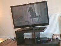 BLACK TV STAND FOR SELL £60