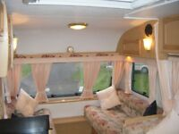 Bailey Ranger 470/4 4 Berth Caravan with Full Sized Awning.
