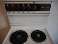 traditional style TRICITY BENDIX 4 ring cooker...immaculate.