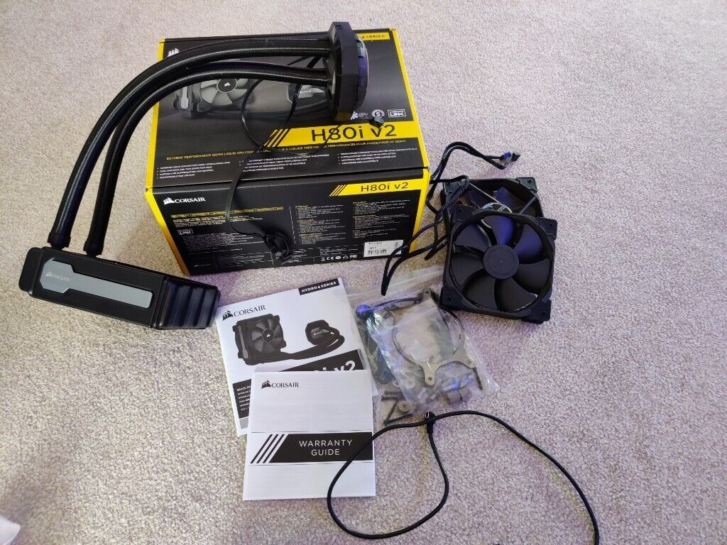 Corsair H80i V2 CPU Liquid Cooling System | in Flitwick, Bedfordshire |  Gumtree