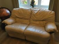 Leather sofas