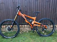 Orange 324 factory 2018 Downhill mountain bike