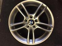 BMW ONE series alloy wheel for sale only got one 7.5x18 good condition £150 call 07860431401
