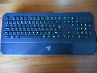 Razer DeathStalker Gaming Keyboard - Green Backlight Expert Gaming, Fully Programmable