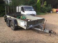 Ifor Williams 3500KG plant trailer