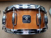 Gretsch Catalina Maple Snare drum & Ritter case for sale