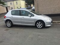 PEUGEOT 307 HDI DIESEL WITH SERVICE HISTORY AND NEW MOT