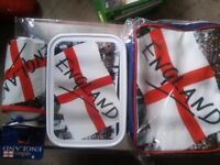3 set england lunch cooler bag/water bottle/lunch box/ new