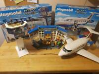 Playmobil Airport and Airplane