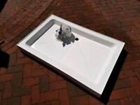 Shower Tray Ceramic 1200 x 760