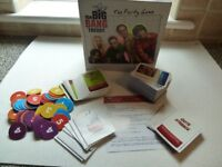 Big Bang Theory TV series party game. Complete and perfect condition.