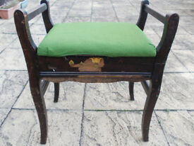Piano Stool (vintage) with music store