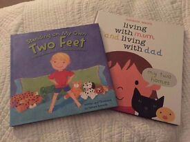 2 Books for children about separation or divorce