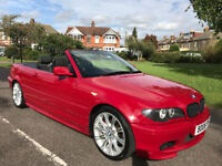 BMW 3 Series 318Ci M Sport, Long MOT, Electric Suede Sports Seats, Polybushed Front Suspension