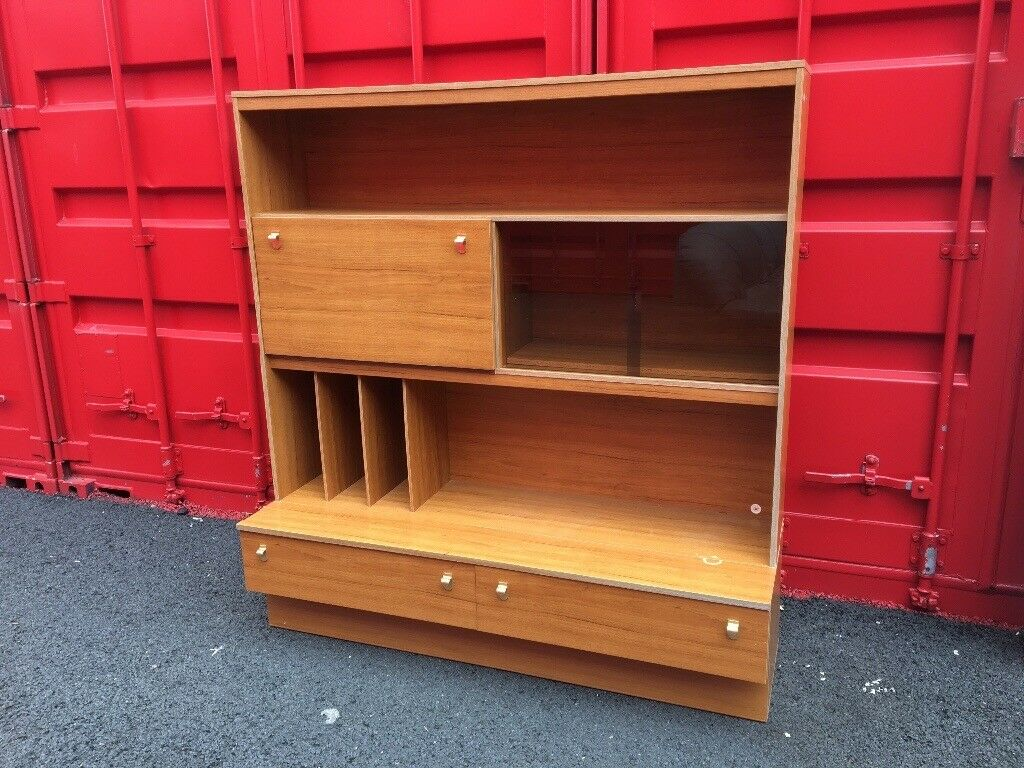 Display cabinet storage unit (can deliver)