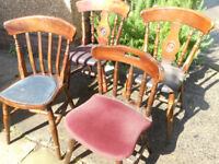 4 Pub Chairs - £10 each