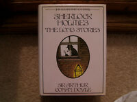 Sherlock Holmes The Long Stories, unread, 4 famous stories, large type, hardback
