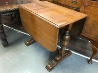 Drop Leaf Oak Dining Table