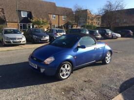 2005 Ford ka Streetka Luxury model brand new mot low mileage!!