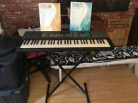 Yamaha Electric Piano + Stand