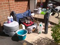 Collection of camping equipment for sale. All in excellent condition.