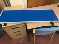 DarkBlue Desk Privacy Boards