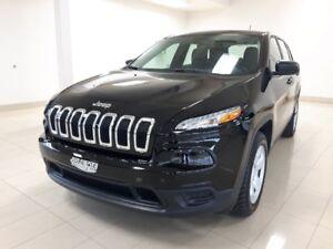 2017 Jeep Cherokee Sport, V6,  Ens. remorquage,